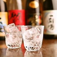 【酒・ドリンクは種類豊富】自慢のお酒をご堪能下さい!