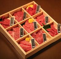 希少部位のイチボ肉やヘルシーな赤身肉・ホルモン等あり