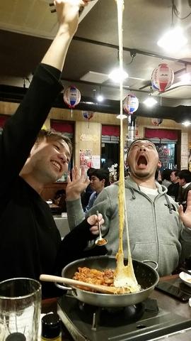 日本一伸び~るチーズタッカルビはじめましたよー!