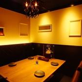 個室は8名様までOK他に半個室タイプのお席もございます