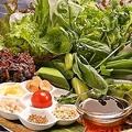 料理メニュー写真ベトナム風菜食