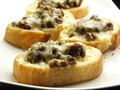 料理メニュー写真キーマカレーピザトースト