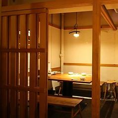 地下1階半個室テーブル席