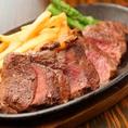 (その2)牛ステーキ ※プレミアム食べ放題メニューです