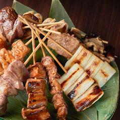 《串焼き》ねぎ串(塩、タレ) 1本