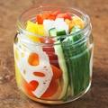 料理メニュー写真彩り野菜のスティックピクルス