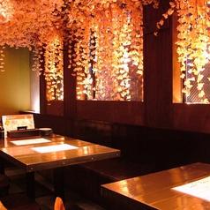 京町屋の雰囲気を楽しめる和空間です。女子会、飲み会に!