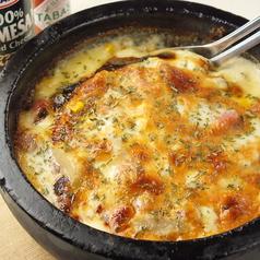 料理メニュー写真石鍋スパゲッティグラタン