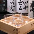 日本酒飲み比べ!