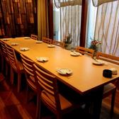 掘り炬燵式のお席もありますがテーブルでもご宴会が可能です!
