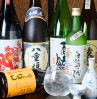 龍力・八重垣など姫路が誇る地酒などこだわりの仕入れ