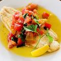 料理メニュー写真白身魚のソテー