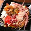 料理メニュー写真海鮮玉(えび、いか、たこ)