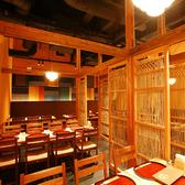 最大50名様までのご利用が可能なお席もご用意。大人数でこだわりの本格和食ビュッフェが楽しめます。