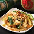 料理メニュー写真湯葉と野菜のサラダ
