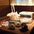 ビンゴ機/インスタントカメラ/受付セット/プチギフトカゴ/抽選箱/簡易金庫