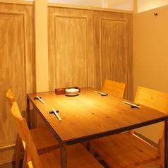 テーブル個室もあり。4名様~テーブルを繋げれば最大30名様までご利用いただけます。