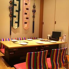 6名様までが使用できる完全個室席も管理!個室席全てで20席近くはありますよ~