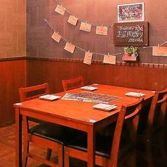 お洒落なゆったりとした空間!なテーブルなので広々と使えます!!