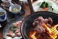 料理メニュー写真炭火お狩り場焼き(お肉・野菜・前菜付き)