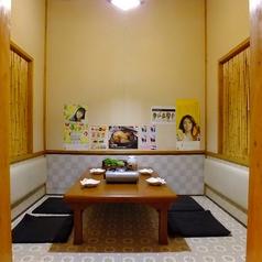 【座敷★2~6名様個室】足を伸ばしてゆったりできます。カップルの方に人気です。