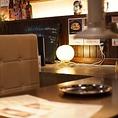 焼肉屋には珍しくしっとりおしゃれな雰囲気の店内でごゆっくりお食事をお楽しみ下さい♪