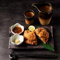 料理メニュー写真鮪ホホ肉のチーズinフライ