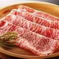 料理メニュー写真特選黒毛和牛ロース(120g)