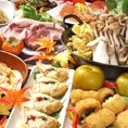 《歓送迎会特別コース》これぞ贅沢!!極みというに相応しい料理の数々をご堪能下さい♪上司も納得、必ず幹事様にも満足していただける内容です。歓送迎会・各種宴会にピッタリ。