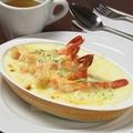 料理メニュー写真海老のマカロニグラタン