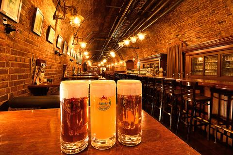 サッポロビールの歴史はここからはじまりました。当時のできたての味「開拓使麦酒」。