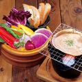 料理メニュー写真カニ味噌バーニャカウダー