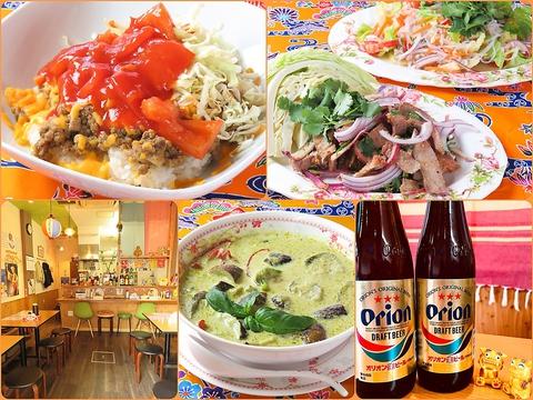 沖縄出身の料理長が作る本場の味。沖縄料理とタイ料理も一緒に愉しめる居酒屋さん♪