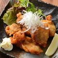 料理メニュー写真鶏唐揚げ (旨醤油)