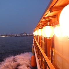 360度広がる広島の夜景を心地良い風と共にお楽しみいただけます。