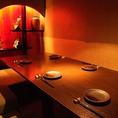 5名様~6名様までご利用いただける完全個室。上品な雰囲気の空間はビジネスシーンに最適。もちろん会社宴会などにもおすすめです。