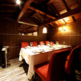 2階 8名様VIP個室 (料金 ランチ2000円 ディナー3000円)[5名さま以上のお食事で無料となります。