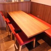 デートや会社宴会にも最適なテーブル席をご用意♪☆津田沼 居酒屋 焼鳥 宴会 個室