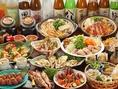 季節で変わる宴会コースは旬食材と贅沢食材をふんだんに使用!大満足のラインナップです!