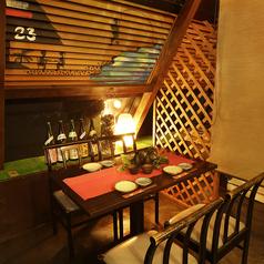 ●【~ドア付完全個室 OR 半個室~ テーブル : 港町の間~】● :2~15名用