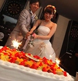 3500円プランではウェディングケーキも♪新郎新婦へのサプライズにオススメ◎