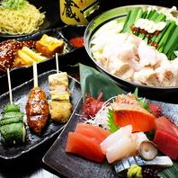 選べる鍋付きコースは3500円~!人気の鍋や浜焼きも◎