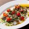 〔冷菜〕北海道産タコのカルパッチョ マッシュポテトソース