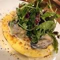 料理メニュー写真牡蠣のオムレツ