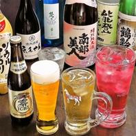 日本酒からハイボール、ワイン、マッコリまで種類豊富♪
