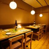 人数様に応じてごち用可能な宴会個室を完備しております。会社同僚の宴会や接待での人気が高く、くつろげると好評です。熟知したスタッフが丁寧にご対応させて頂きます♪