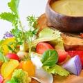 料理メニュー写真農家直送の糸島野菜