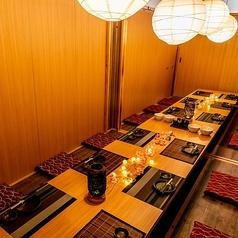 酒と和みと肉と野菜 梅田HEPナビオ店の雰囲気1