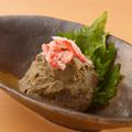 料理メニュー写真カニ味噌