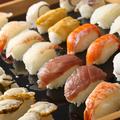料理メニュー写真握り寿司も食べ放題!